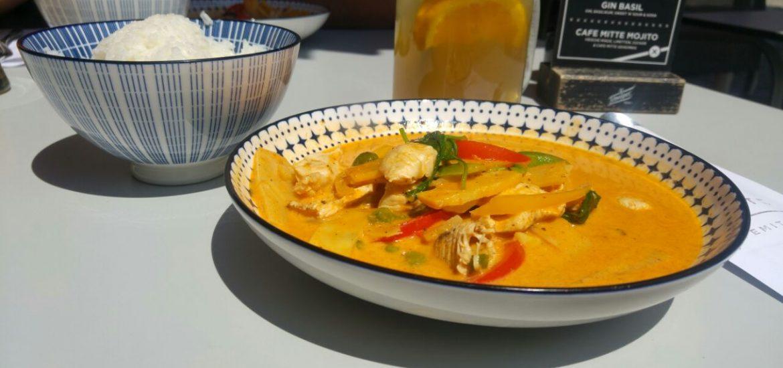 Thai Essen aus dem Lokal Café Mitte in Graz